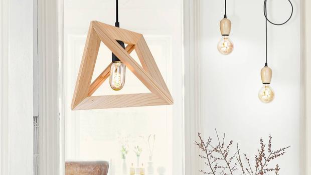 Des luminaires en bois !