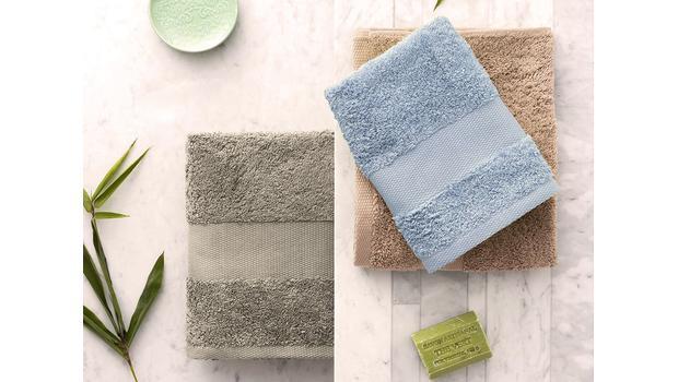 Textiles de bain colorés