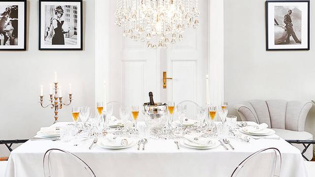 Table classique, chic