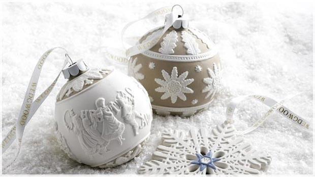 Wedgwood Addobbi Natale.Wedgwood Porcellane E Addobbi Westwing