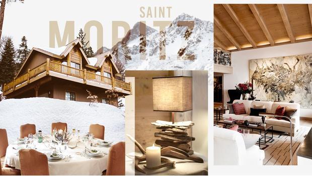 Chalet a Saint Moritz