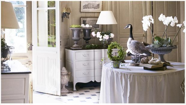 Ingresso Shabby Consolle Lampade Westwing