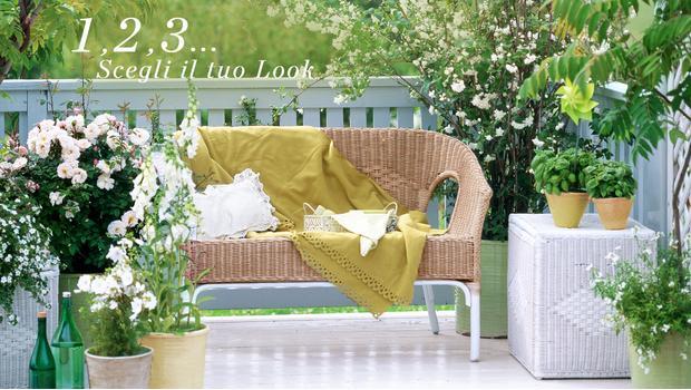 Un balcone, 3 stili