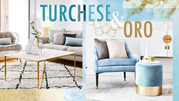 Color trend: Turquoise & Gold