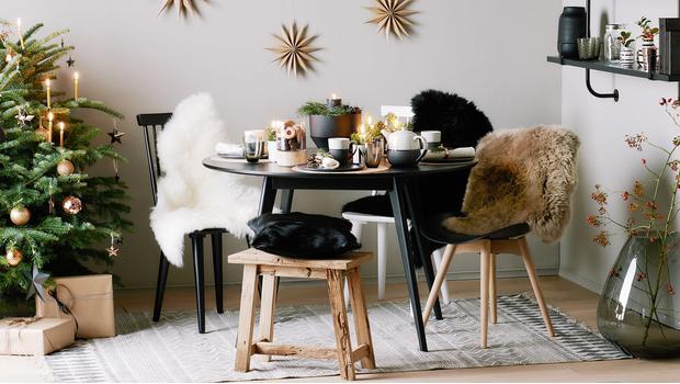 Natale Urban Chic Alberi, decori e arredi black&white | Westwing