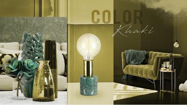 Color palette: Khaki