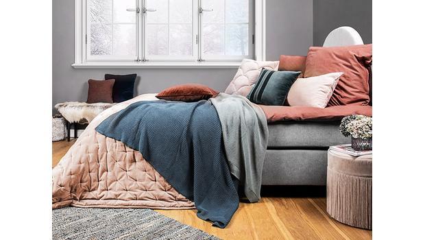 Piumino Letto Turchese : Letto caldo piumini coperte in lana flanella e cotone westwing