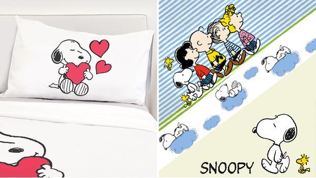 Lenzuola Matrimoniali Snoopy.Peanuts Bedding Il Letto Per Grandi E Piccini Westwing