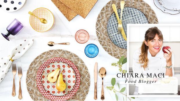 A tavola con Chiara Maci