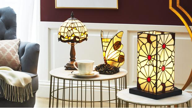 Plafoniere Stile Tiffany : Tiffany lights lampade in stile liberty westwing