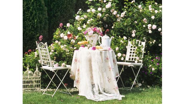 Un Tè in giardino