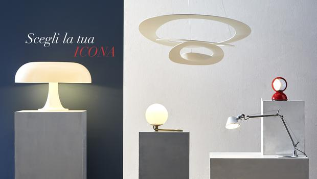 Artemide dioscuri parete soffitto lighting lighting wall