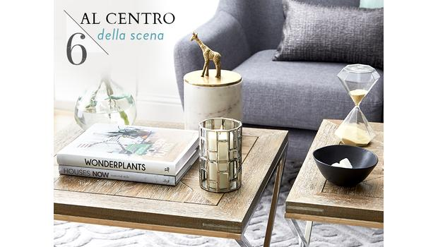 Coffee table, deco e libri