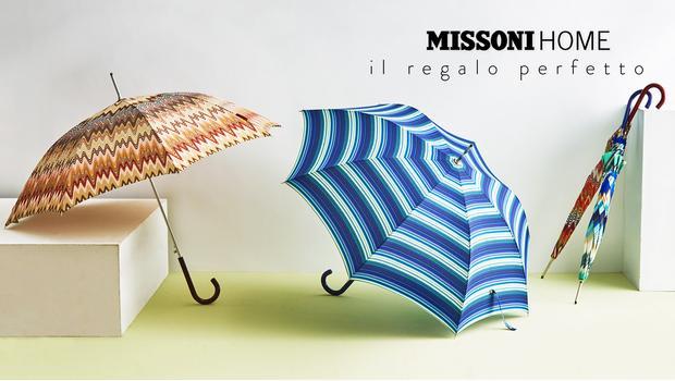 size 40 e6424 2c6c7 Gli Ombrelli di Missoni Stile sotto la pioggia | Westwing