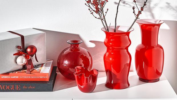 Idea regalo: venini vasi in vetro di murano dal 1921 westwing