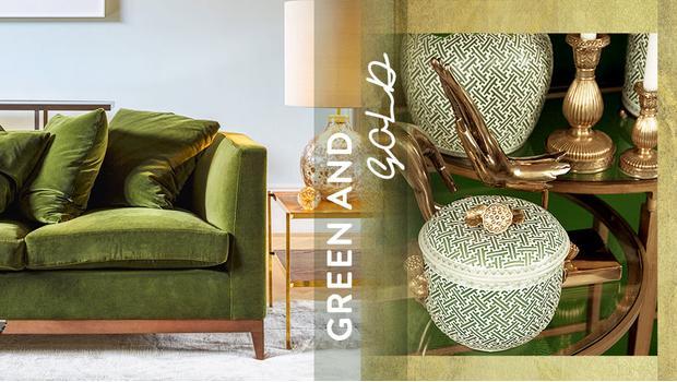 Coppia Chic: Verde+Oro
