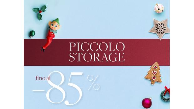 Piccolo Storage fino al -85%