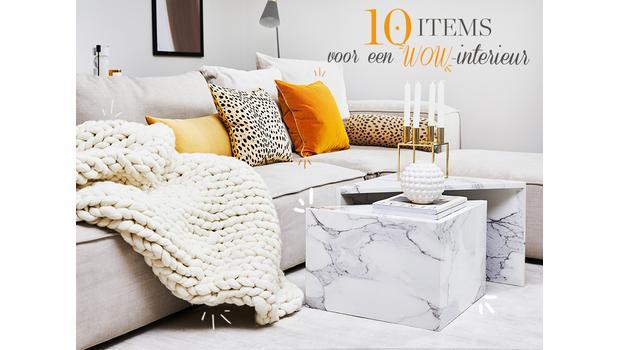 Deze 10 items heb je nodig...