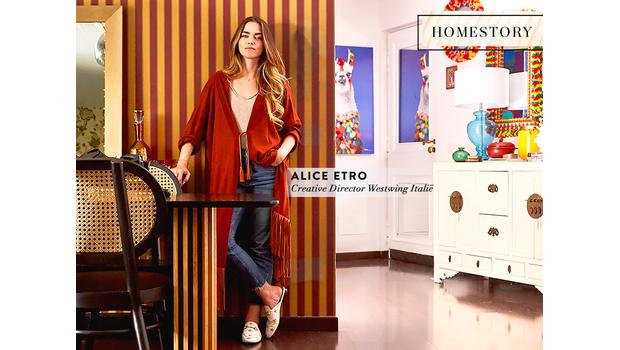 Thuis bij Alice Etro