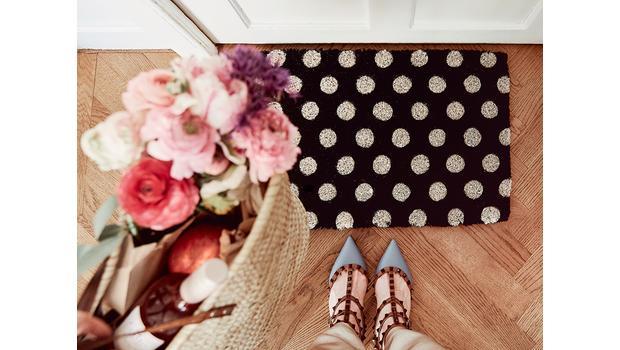 De deurmat als blikvanger