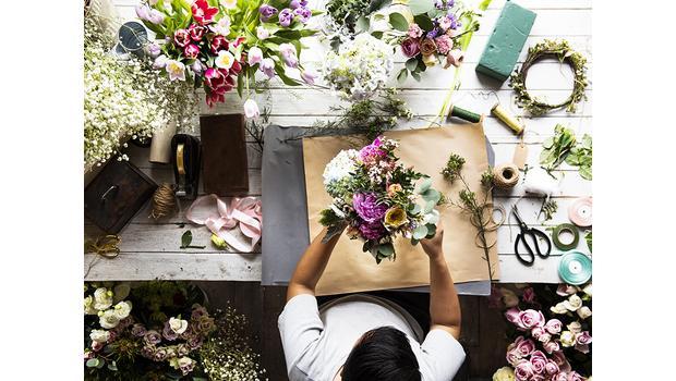 Zet de bloemetjes binnen
