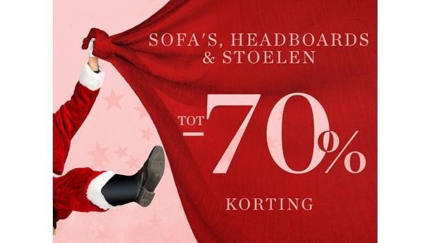 Sofa's, headboards & stoelen