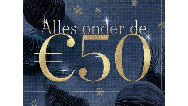 Alles onder de €50