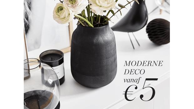 Moderne deco vanaf €5
