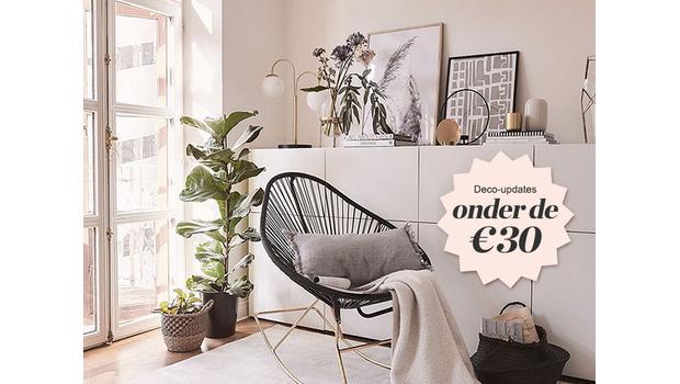 Deco-items onder de €30