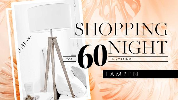 Shopping Night: lampen