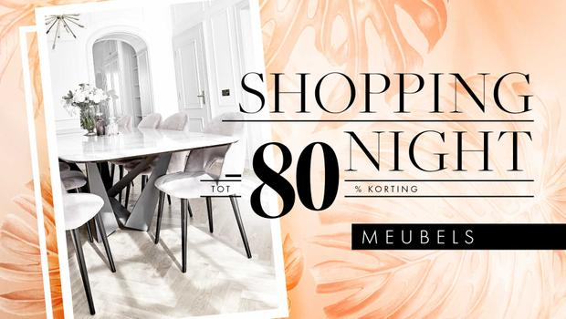 Shopping Night: meubels