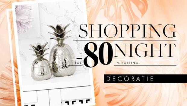 Shopping Night: decoratie