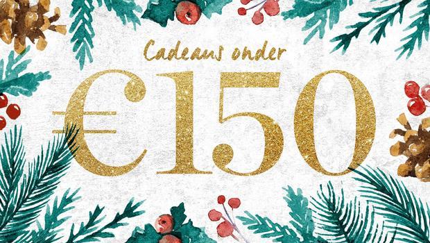 Cadeaus onder €150