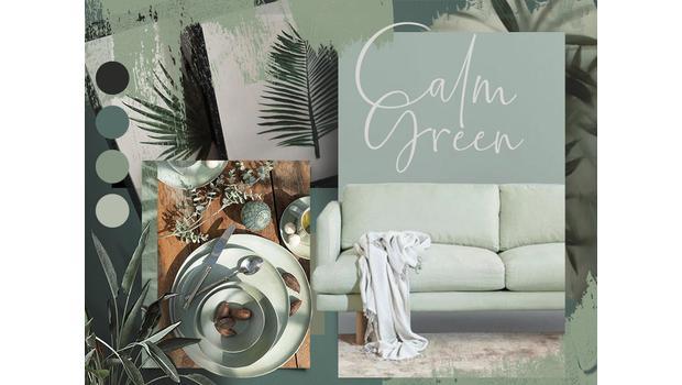 Calm, calmer, green