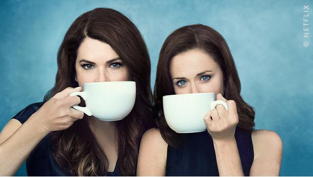 Coffee lovers: Lorelai & Rory