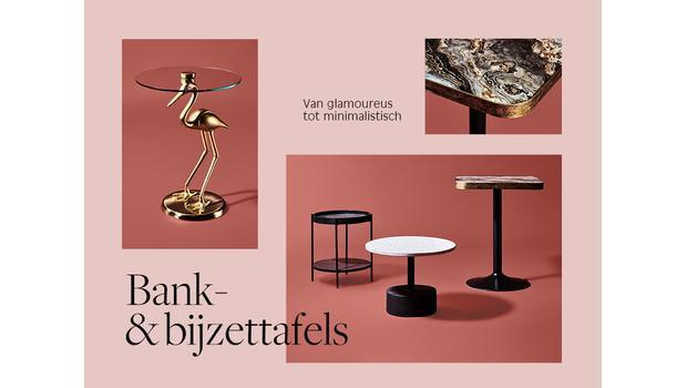 Bank- & bijzettafels