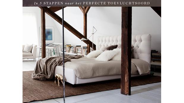 De relaxte slaapkamer