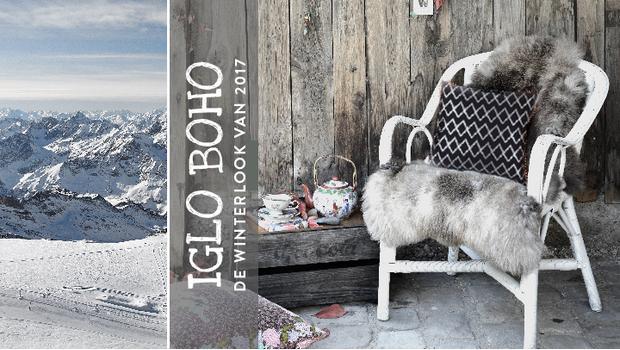 Boho goes iglo