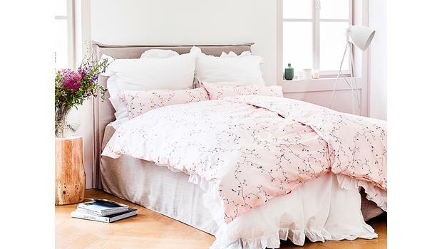 Lente in de slaapkamer