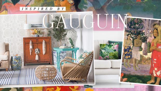 Geïnspireerd op Gauguin