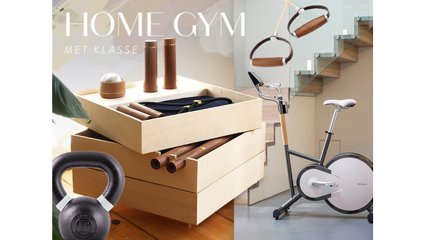 Zo mooi kan een home gym zijn