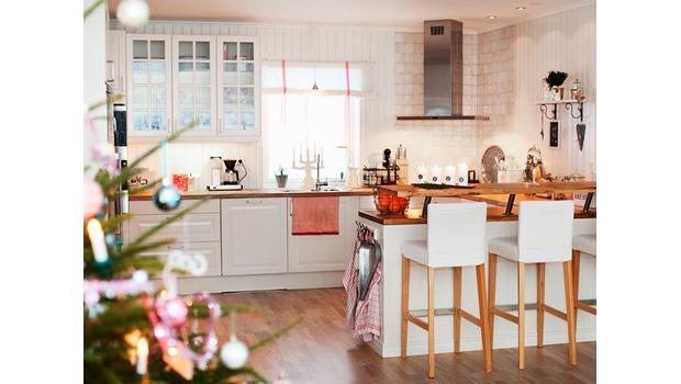 Keuken Make Over : Kerstmis in de keuken wintertextiel decoratie voor een