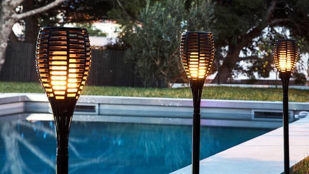 Buitenlampen op zonne-energie