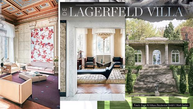 Gluren in de Lagerfeld-villa