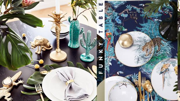 Tropisch tafelen
