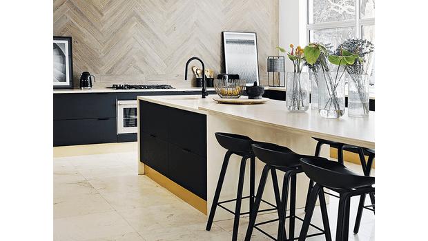 De elegante keuken