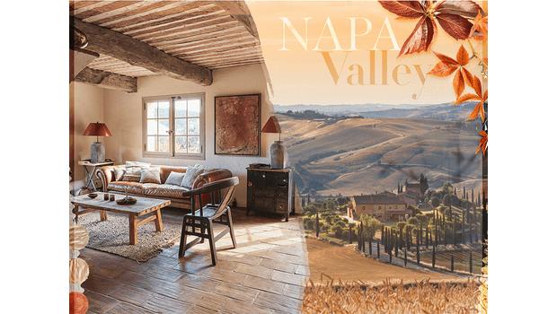 Geïnspireerd op Napa Valley