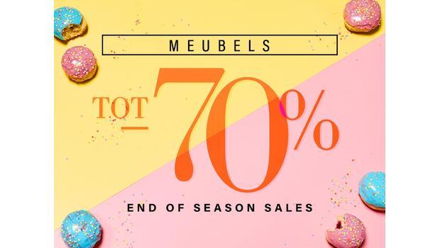 End of season: meubels