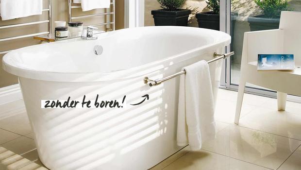 Boren in de badkamer?