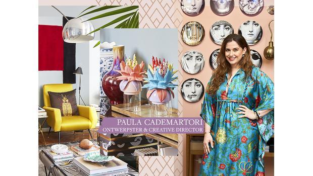 Thuis bij een modeontwerpster